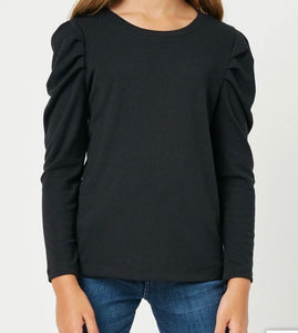 Puff Shoulder Top - jernijacks