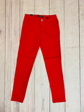 Load image into Gallery viewer, Red Twill Skinny Pant - jernijacks