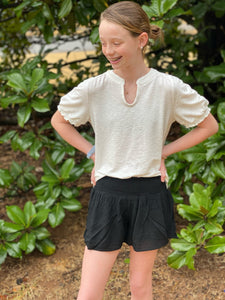 Smocked Waist Soft Shorts - jernijacks
