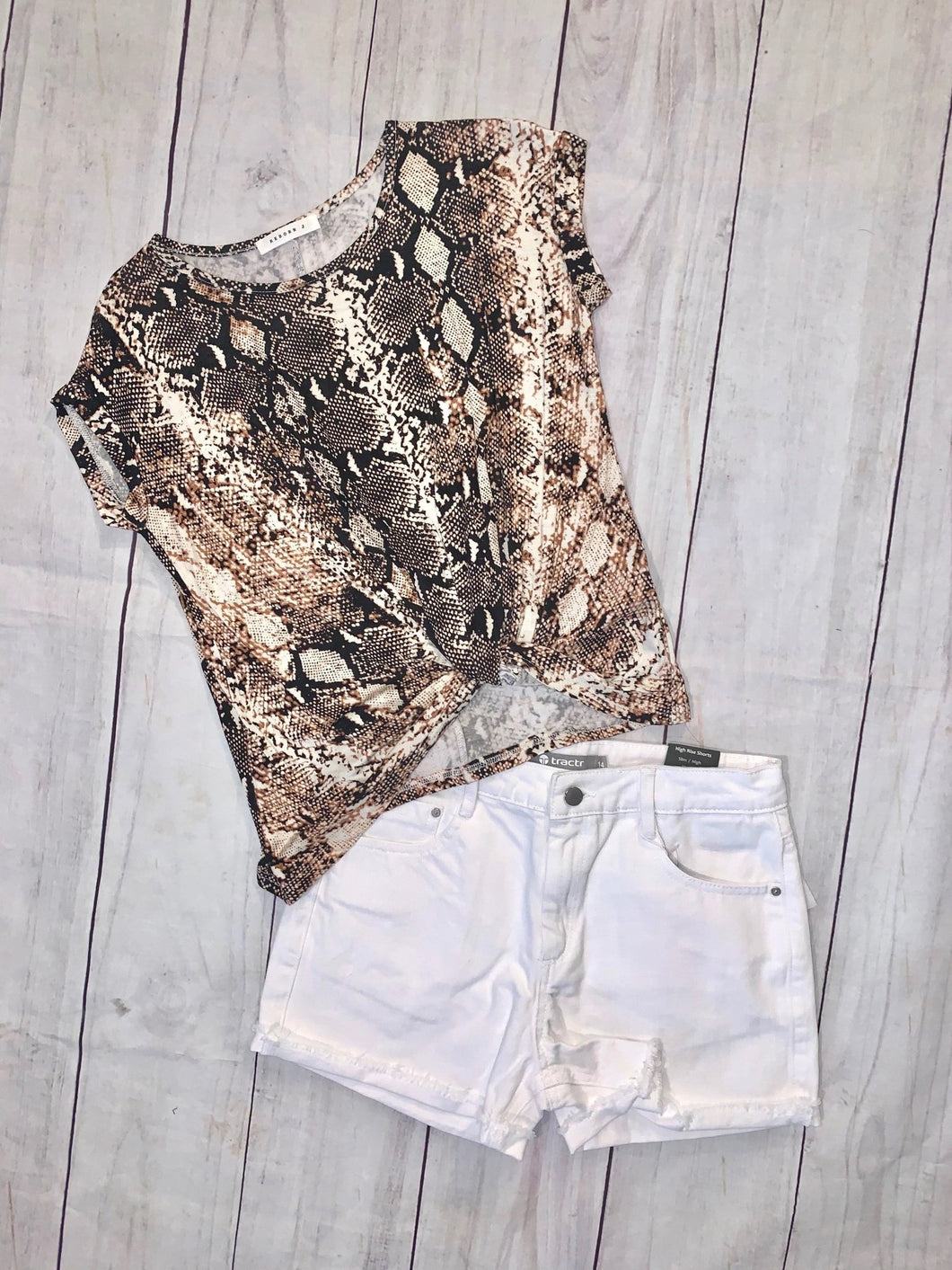 Snakeskin Top - jernijacks