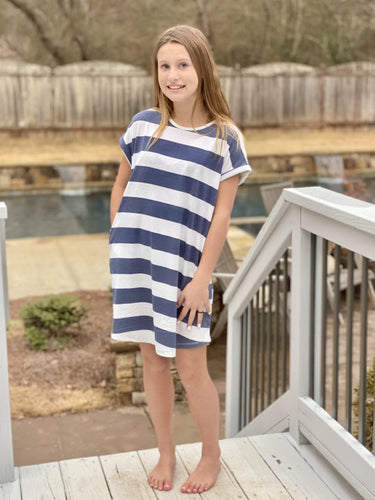 Stripe Knit Dress - jernijacks