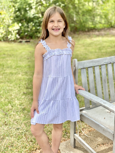 Stripe Tiered Dress - jernijacks