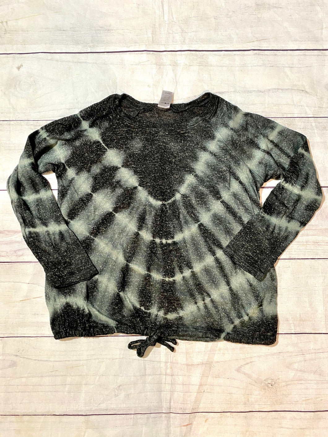 Tie Dye Fleece Raglan Top - jernijacks