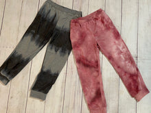 Load image into Gallery viewer, Tie-dye Jogger, Charcoal & Pink - jernijacks