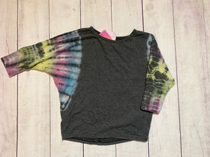 Tie Dye Sleeve Top - jernijacks