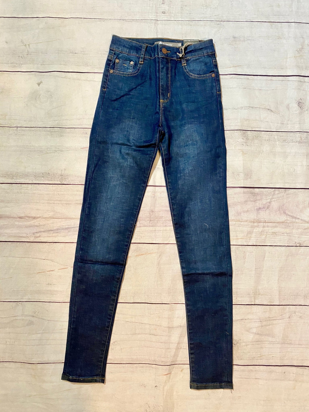 Tractr Ultra High-Rise Skinny Jeans - jernijacks
