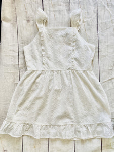 White Eyelet Dress - jernijacks