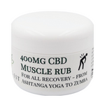 CBD Muscle Rub - 400mg - for all active recovery