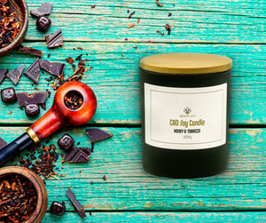600mg CBD Candle, Honey and Tobacco