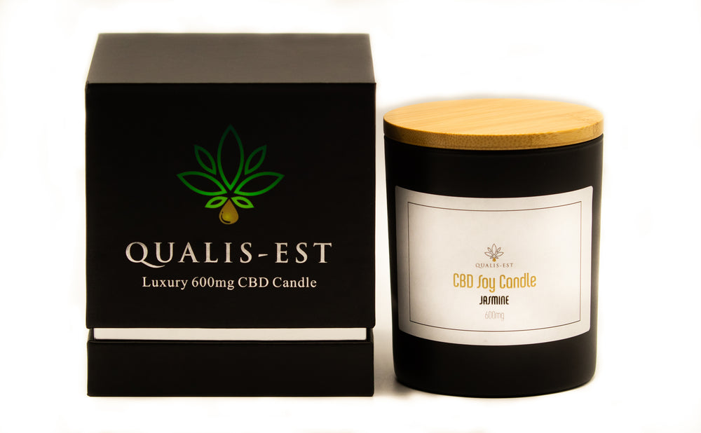 600mg CBD Candle, Jasmine