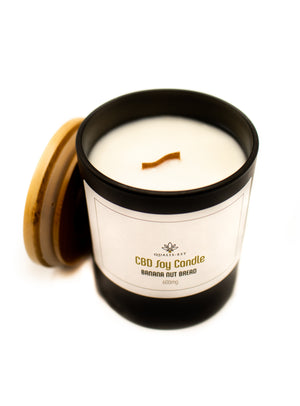 600mg CBD Candle, Banana Nut Bread