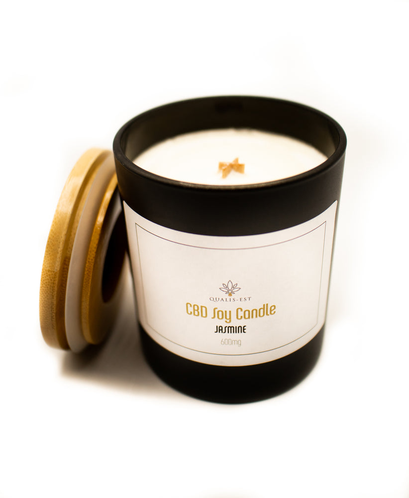 Load image into Gallery viewer, 600mg CBD Candle, Jasmine