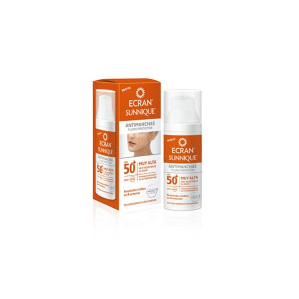 Crema protectora facial antimanchas Sunnique ECRAN SPF 50 - 50 ml