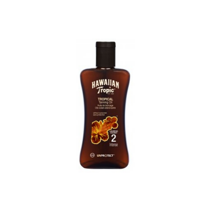 Aceite bronceador Tropical Tanning Oil 2 – Intense HAWAIIAN TROPIC -200 ml