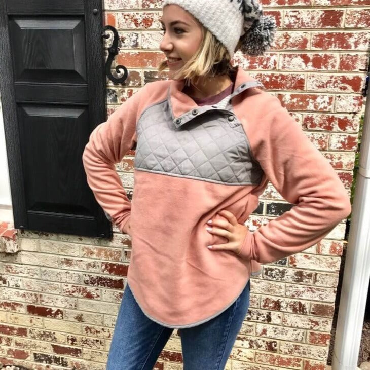 Crush and Blush Fleece