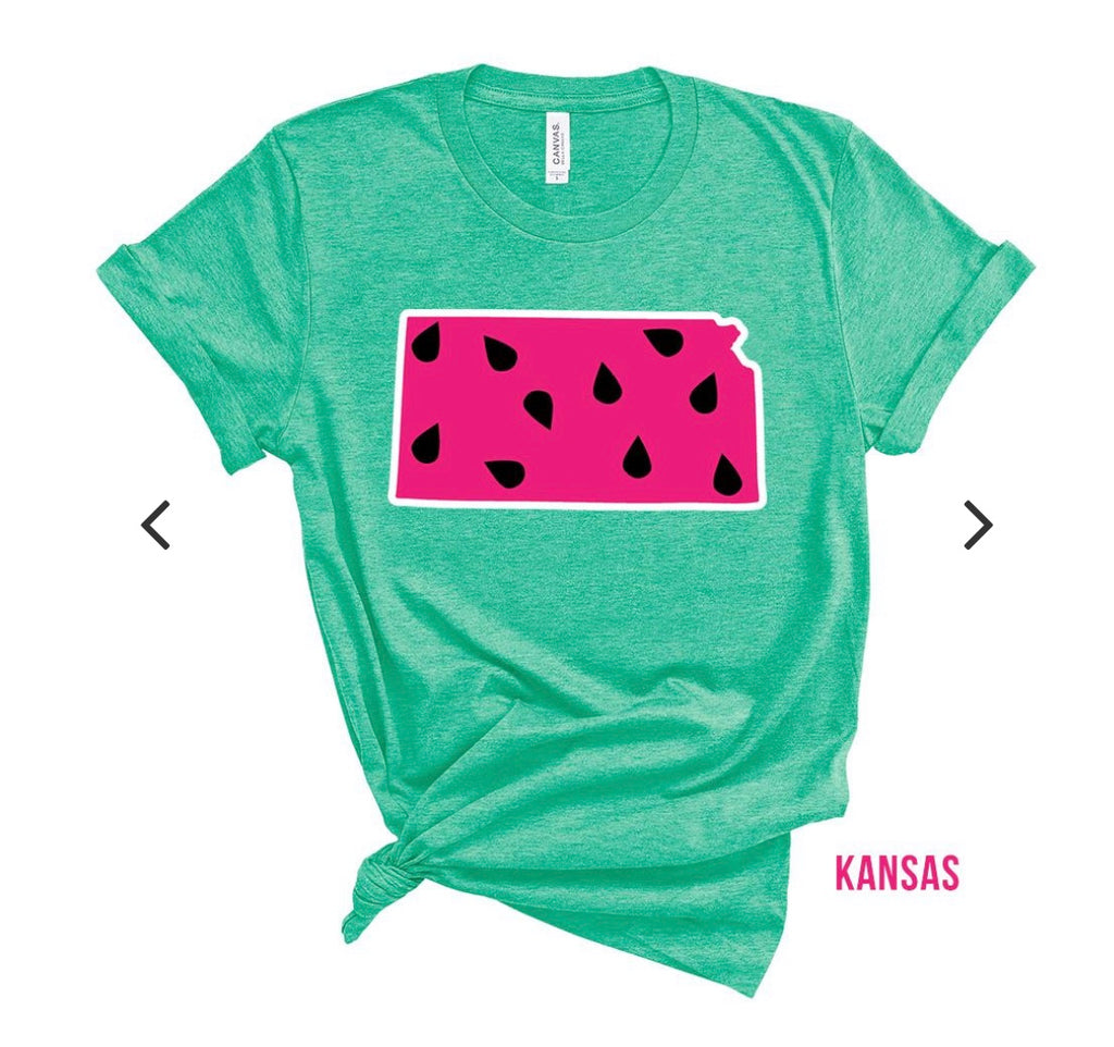 Kansas Watermelon Tee
