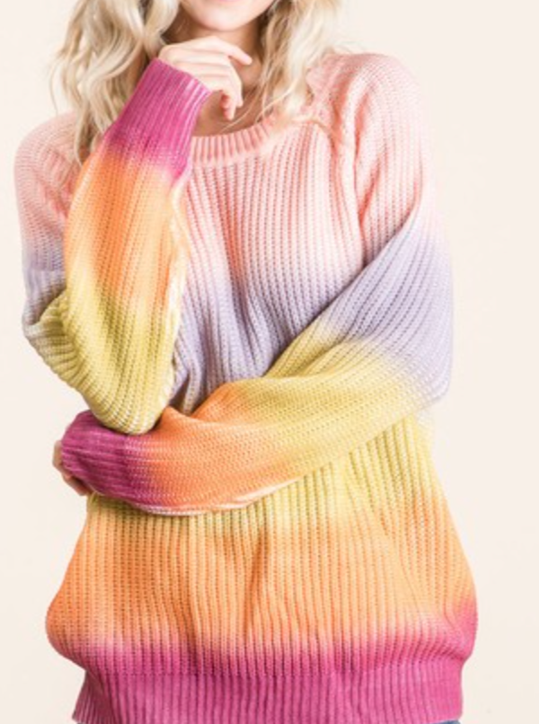 Starburst Tie Dye Sweater