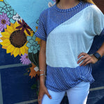 Blue Belle Top