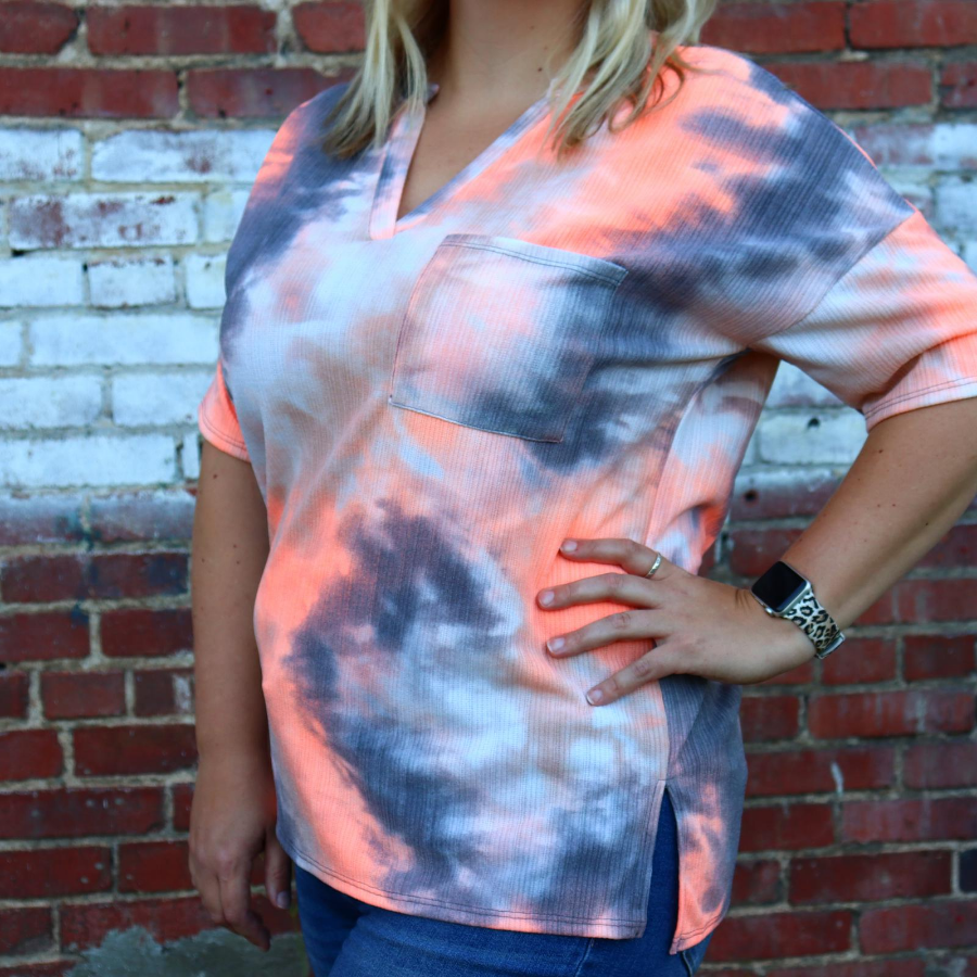 Tie Dye Obessions Top