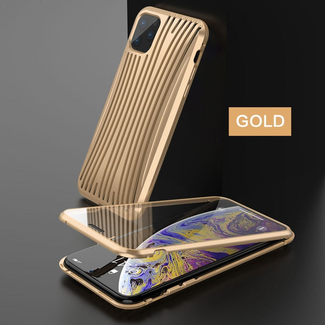 Strong Magnetic Luxury Metal Phone Case For iPhone 11/11 Pro/11 Pro MAX - NESHTRI