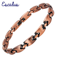 Escalus Unisex Gift Magnets Antique Copper Bracelet - NESHTRI