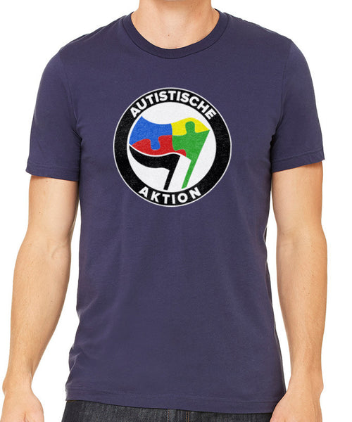 Autistische Aktion Men's T-Shirt