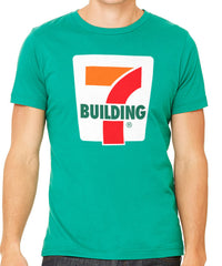 Building 7 Men's T-Shirt