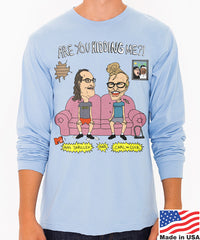 AIDS Skrillex & Carl the Cuck Men's Longsleeve Tee