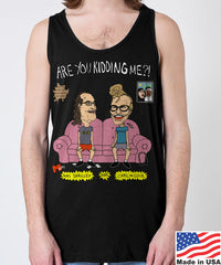 AIDS Skrillex & Carl the Cuck Men's Tank Top