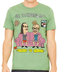 AIDS Skrillex & Carl the Cuck Men's T-Shirt