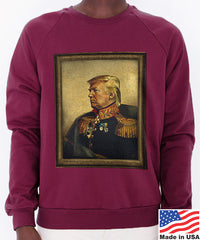 God-Emperor Trump Men's Sweatshirt