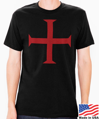 Knights Templar Cross Men's T-Shirt