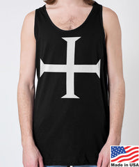 Knights Templar Cross Men's Tank Top