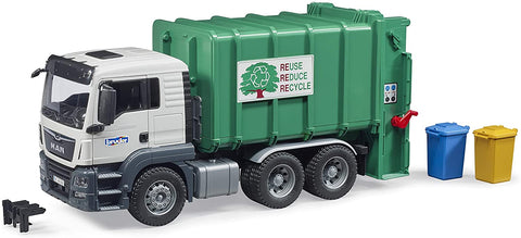 Man TGS Rear Loading Garbage Truck