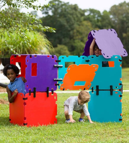 Color Block Fantasy Forts