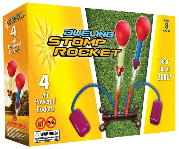 Dueling Stomp Rockets