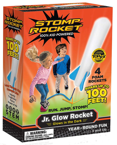 Jr. Glow Stomp Rocket
