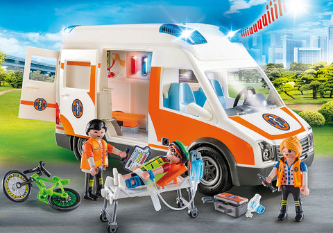 Playmobil 70049 - Ambulance with Flashing Lights