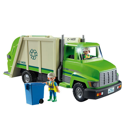 Playmobil 5679 - Green Recycling Truck