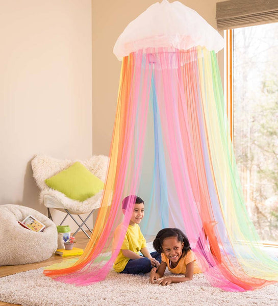 Light-Up Rainbow Canopy