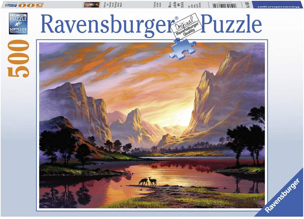 Tranquil Sunset 500 Piece Puzzle