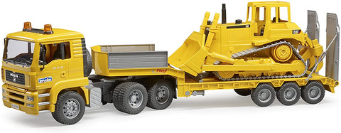 MAN TGA Low Loader with CAT Bulldozer