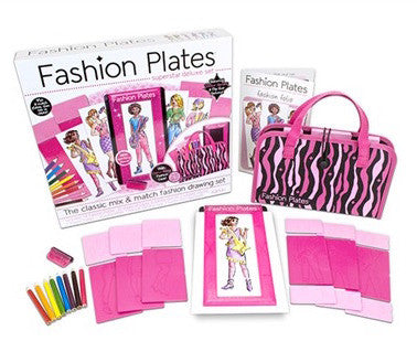 Fashion Plates Superstar Deluxe Set