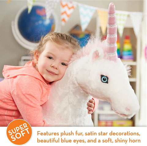 Giant Plush Unicorn