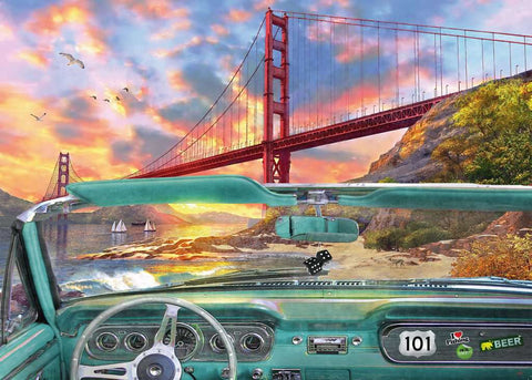 Golden Gate 1000pc Puzzle
