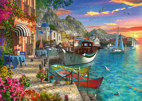 Grandiose Greece 1000pc Puzzle