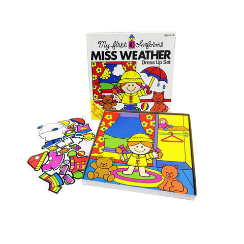 Miss Weather Colorforms Set
