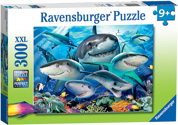 Smiling Sharks 300pc Puzzle