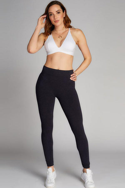 Heathered Legging Navy