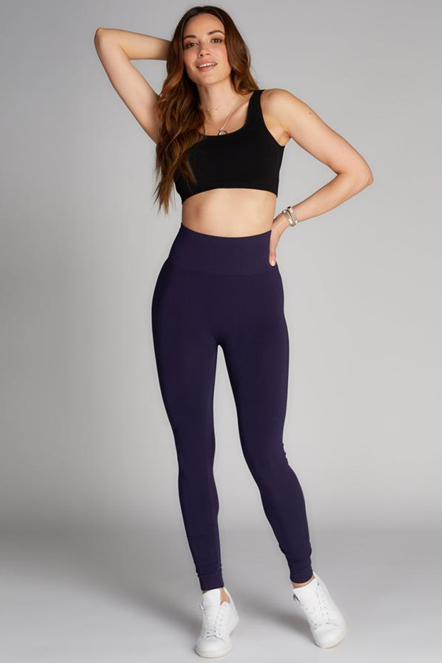 Full Length Hi Waist Legging Navy